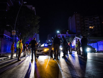 Police use sjamboks and rubber bullets to enforce Hillbrow lockdown