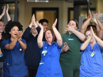Clap for carers: UK pays tribute to key workers for tenth and possibly final week